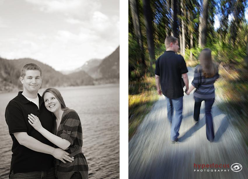 engagement session buntzen lake