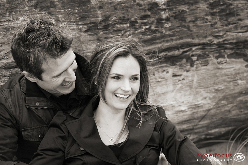 engagement photo session vancouver beach