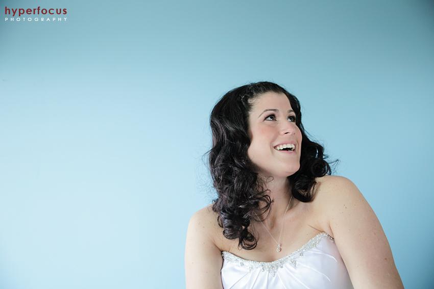 bride hyperfocus photography