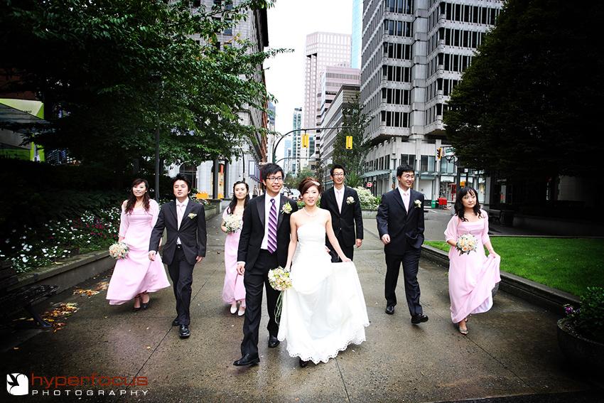 urban wedding party vancouver