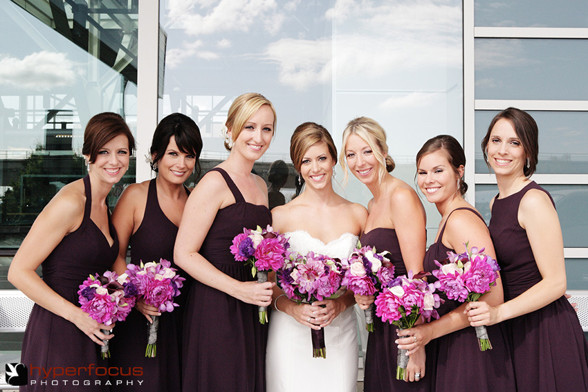 bridesmaids purple vancouver