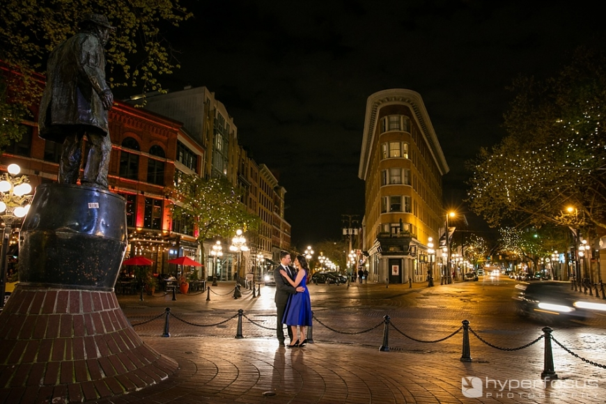 vancouver engagement session gastown