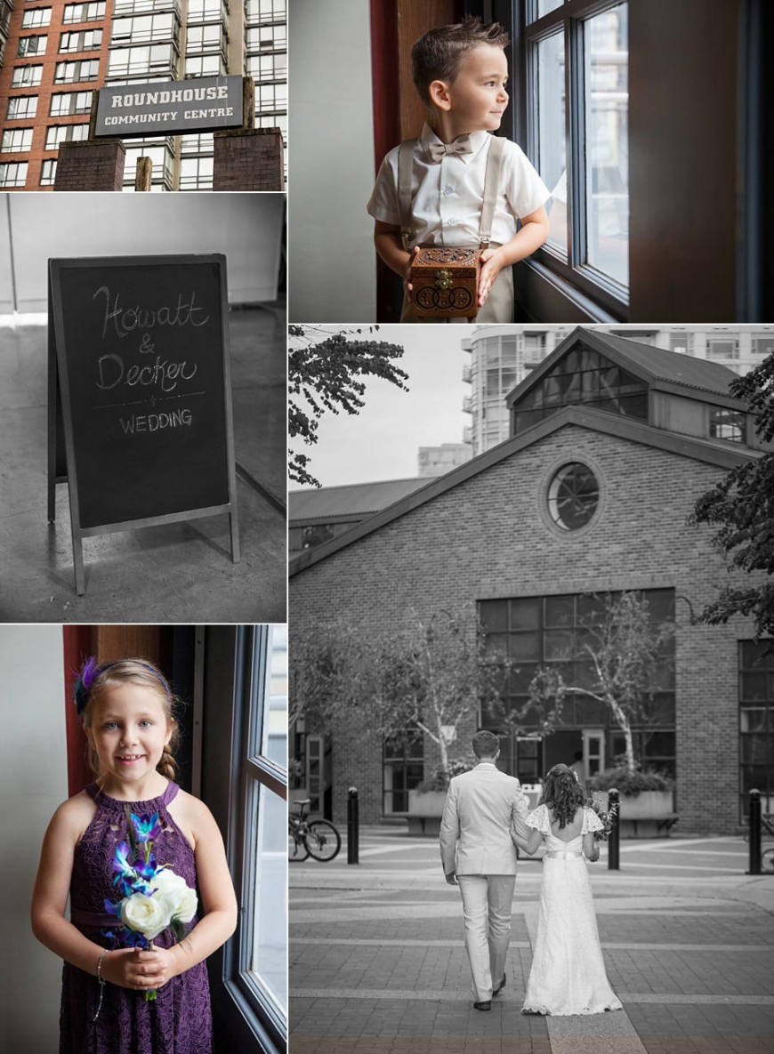 The Roundhouse Yaletown vancouver wedding venue