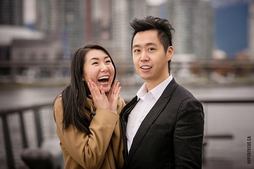 olympic village vancouver engagement photos