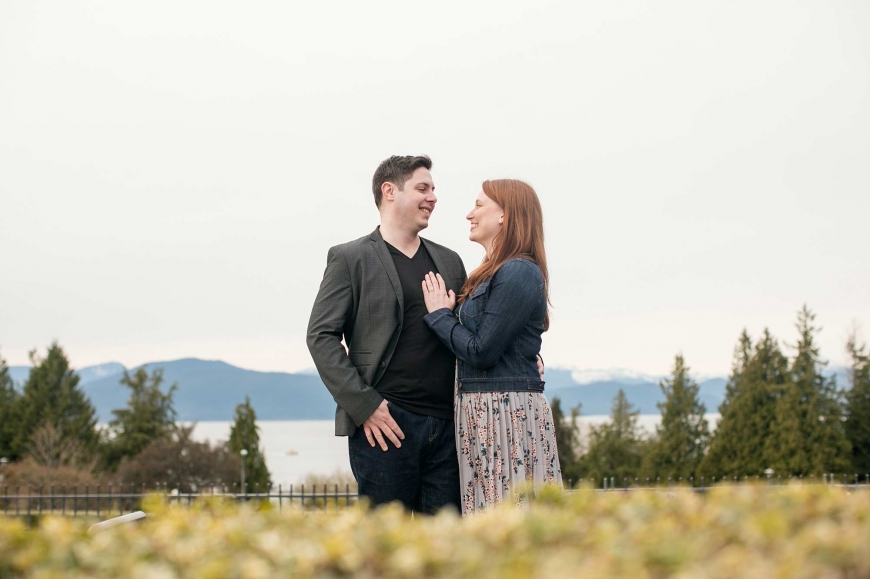 engagement photos at ubc