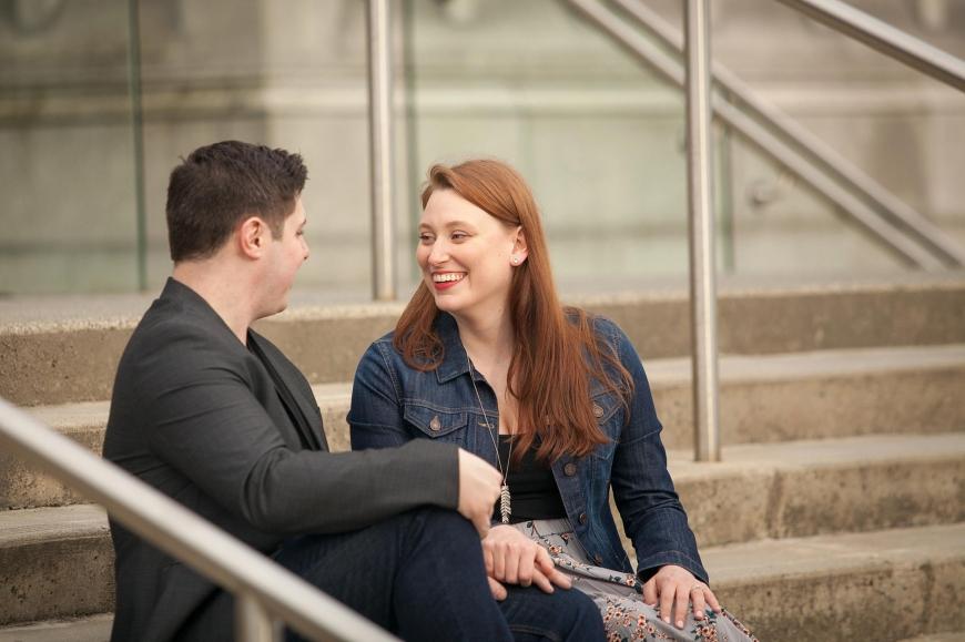 engagement photos at ubc