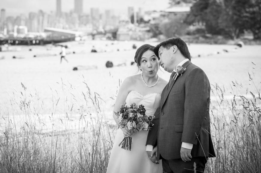 Jericho Beach wedding photography